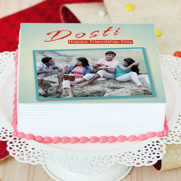 Portrait Photo cake