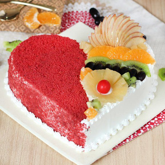 Exotic Redvelvet Fruit Cake