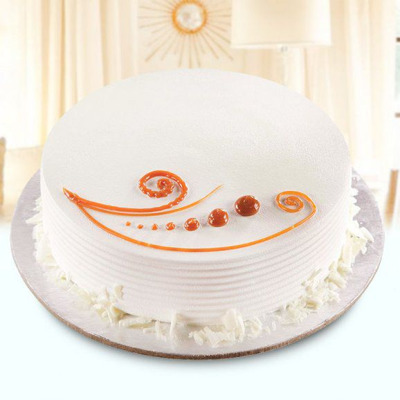Sunshine White Forest Cake