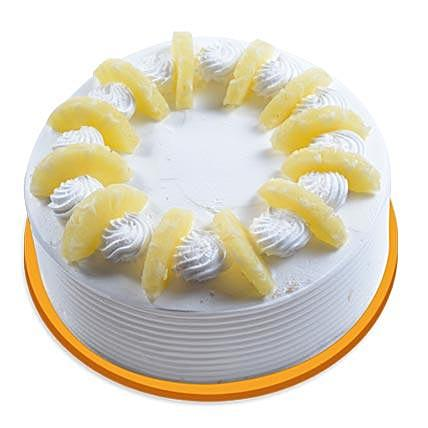 Twisted Pineapple Cake