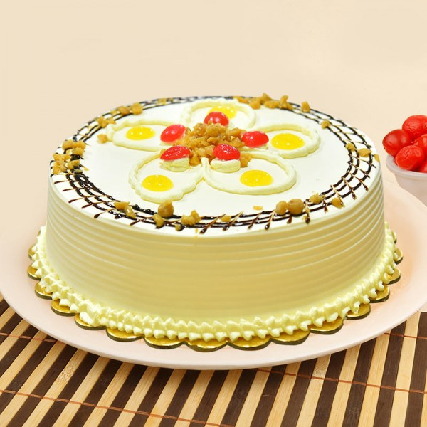 Attractive Butter Scotch Cake