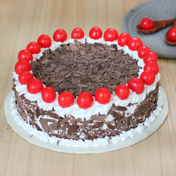 Cherry Rich Black Forest Cake