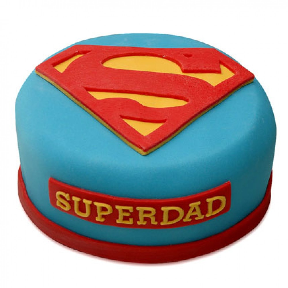 Superman  Superdad Cake