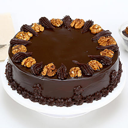 Rich Nuts Choco Walnut Cake