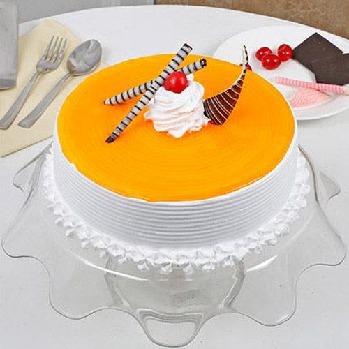 Juicy Mango Cake