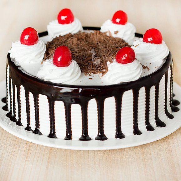 Impeccable Black Forest Cake